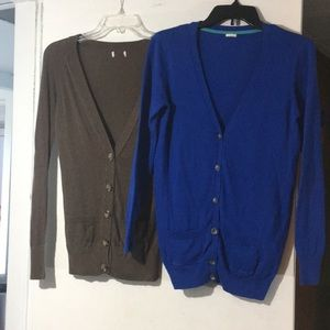 Bundle Of 2 Cardigans